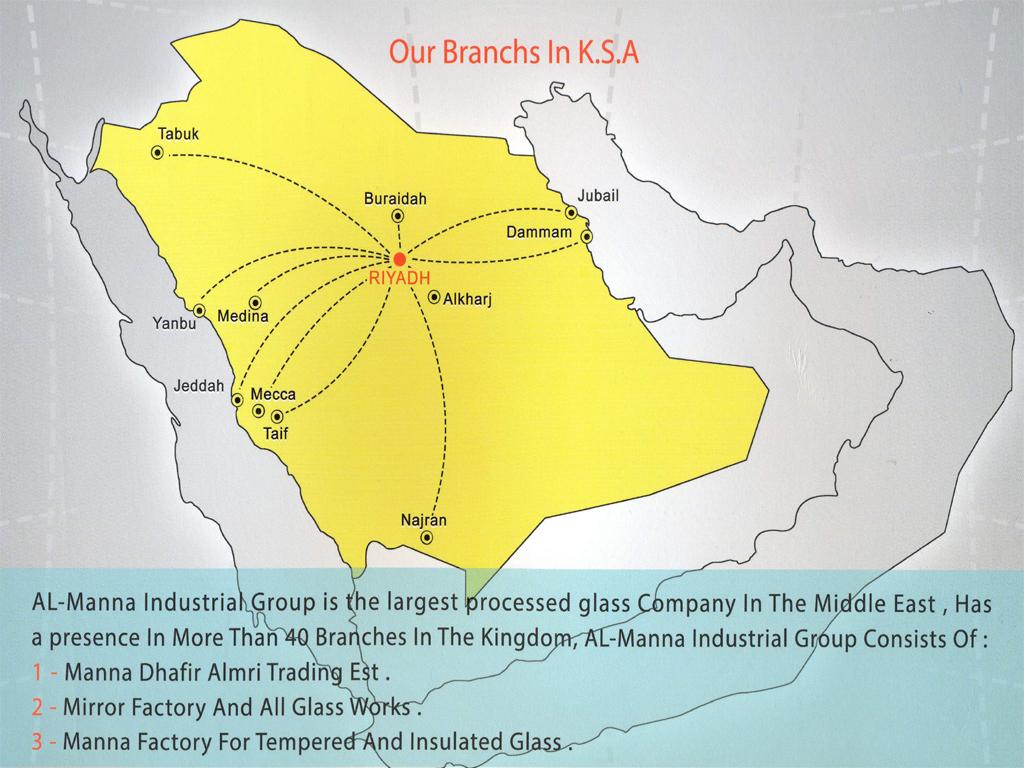 Branches - Where is riyadh